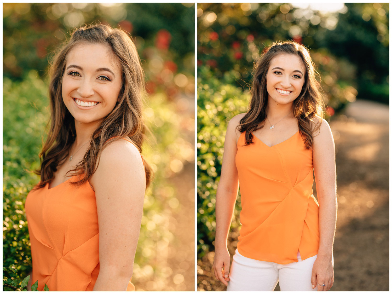 pictures of a senior girl for sorority packets