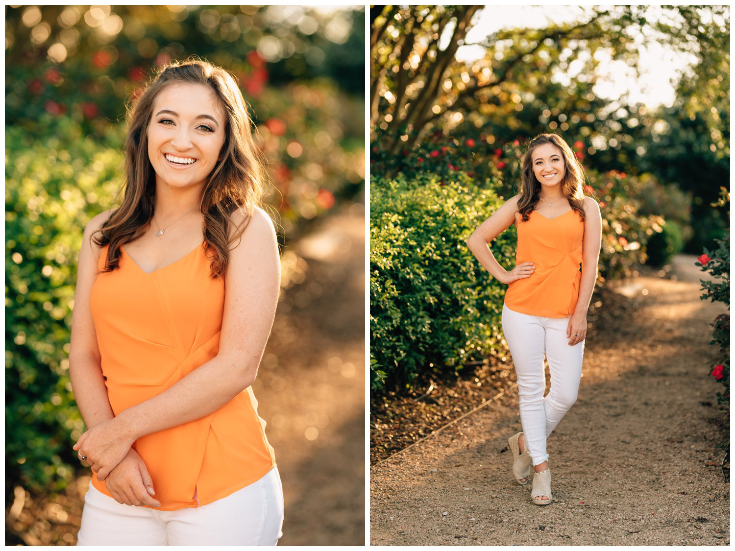 headshots and full body shots for sorority packets